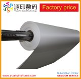 50-140gsm alta transferencia de calor liberado por sublimación de papel para la industria textil