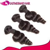Ослабление волн Черный 1b бразильского волосы вьются 100% волос человека не Реми волос