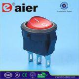Rojo iluminado en del interruptor de eje de balancín de CQC