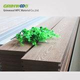 Imperméabiliser le plancher en stratifié, revêtement de sol extérieur de paquet de WPC