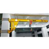3 Ton Pillar Type Jib Crane com 180/270/360 Degree Rotation