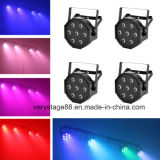 Mini 7*10W RGBW 4 em 1 par de LED para Interior/Luz de LED Mini PAR Light