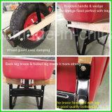 Wheelbarrow Carretilla do mercado de América Latin Colômbia para a construção