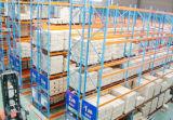 Rack de palete móvel para sistemas de armazenamento de armazém