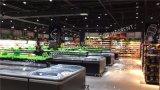 Ilha do gabinete para congelador Supermercado