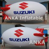 Гигантский воздушный шар гелия Зеппелина PVC 10m раздувной рекламируя
