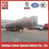 Aquecimento do betume líquido semi reboque 3 eixos 30 Cbm asfalto líquido Transporte Petroleiro de isolamento