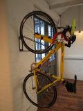 Black Coated Metal Wall Bike Hangers PV0010
