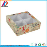 [غنغزهوو] رفاهية ورق مقوّى ورقة ملبس داخليّ يعبر صندوق مع نافذة بلاستيكيّة