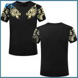Camiseta de encargo del algodón del fabricante de la camiseta del OEM