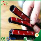 Certificación TS 16949 Sellos de goma para tiras de puertas de coches