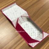 Acuñada en papel de aluminio plegable de Plaza de la caja de regalo de caja de papel