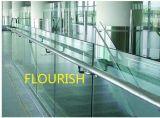 Het duidelijke Lage Ijzer vormde het Aangemaakte Photovoltaic Glas van de Boog van het Zonnepaneel