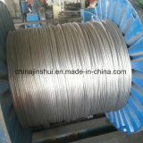 Conductor trenzado de alambre de acero galvanizado