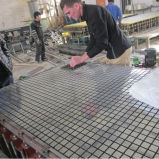 Prfv GRP Glassfiber grades de drenagem no exterior da máquina do equipamento de produção