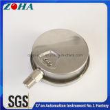 Toute la vente chaude de manomètres d'acier inoxydable dans le certificat de Ks de passage du marché de la Corée