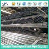 Q235 S235 A53 Pregalvanized ronda del tubo de acero al carbono