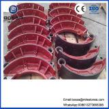 Piezas de la bomba de piezas del motor caja de cambios automática de piezas de fundición de zapatas de frenos de la motocicleta para Nissa 220mm178mm