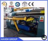 W11H-35X3000 quanlity alta rolos inferiores Arc-Adjust máquina de laminação de flexão da placa