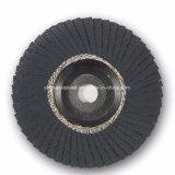 """3 """" 75*10mm 금속 및 콘크리트 및 금속 갈기를 위한 높은 능률적인 플랩 디스크"""