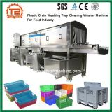 Plastikrahmen-waschende Tellersegment-Reinigungs-Unterlegscheibe-Maschine für Lebensmittelindustrie