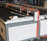 Halbautomatische lamellierte Glasschneiden-Maschine/lamellierende Ausschnitt-Glasmaschine