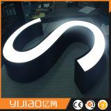 Caractères lumineux acryliques de face de qualité