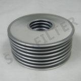 Edelstahl-Ineinander greifen-Filter-Grobfilter-Platte (SPL80-X)