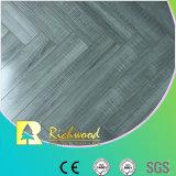 pavimentazione laminata V-Grooved resistente dell'acqua della quercia dello specchio di 12.3mm