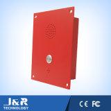 Manos Libres VoIP Ascensor Teléfono, SIP Vandal Resistente emergencia Teléfono del intercomunicador