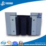 Couverture en aluminium affleurante de joint de dilatation de mur extérieur