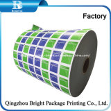 Impresa y lámina de aluminio recubierto de papel para la preparación y limpieza de Alcohol la almohadilla de tejido de gasa con alcohol\