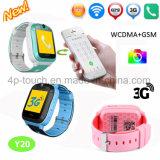 3G/WiFi Sos GPS van de Jonge geitjes van de Veiligheid het Horloge van de Drijver met de Drijver van de Geschiktheid Y20