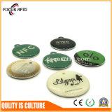 Carte en plastique d'identification et d'IC d'IDENTIFICATION RF avec l'impression polychrome et la forme différente