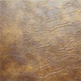 PU canapé en cuir de haute qualité Crazy Hourse en cuir synthétique (768#)