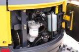 Hot Sale 1.7T AL16-9B mini pelle hydraulique sur chenilles avec zéro queue