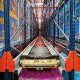 Prateleiras de armazenagem do depósito com alta velocidade de operação do aeroporto de paletes