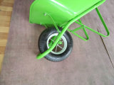 Roda do ar ou de roda do plutônio carrinho de mão de roda resistente do jardim