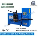 목제 Cutting Band Saw Butt Welder 또는 Saw Flash Butt Welding Machine