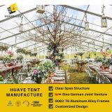 Роскошные шатры венчания для сбывания с все стеклянным (hy033G)