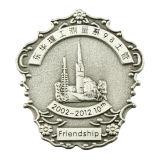 Personalizado insignia de policía militar de metal para el emblema (XD-031114)