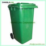 Scomparto di rotolamento dell'HDPE di plastica del coperchio e della rotella per rifiuti