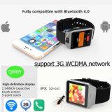 3G het Slimme Horloge van WiFi met Bluetooth en Kaart SIM (QW09)