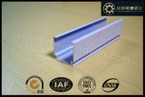 Fenêtre d'aluminium GL2010 Tête aveugle verticale étroite la voie à la Malaisie