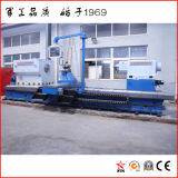 China Grande torno horizontal para o estaleiro de usinagem do eixo (CG61100)