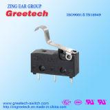 Beste Verkoop van Mini Micro- Schakelaar die in de Controle van de Auto, van het Toestel en van de Industrie wordt gebruikt