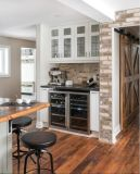 Estilo 2016 do abanador Wooden Kitchen Gabinete