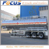 12 reboque de alumínio do caminhão de petroleiro do combustível das rodas 42m3 para a Aramco