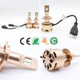 Ceia 9600lm LED luminoso farol com lâmpada HID e Kit HID Xenon (H1 H3 H4 H7 H8 H9 H11 H13)