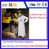 Separador magnético de intensidad alta seco del rodillo para el mineral no-metálico Products320n
